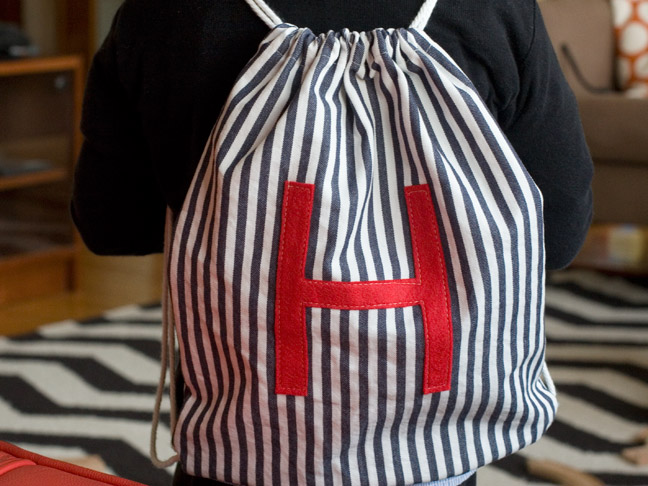 DIY: How To Make A Drawstring Backpack