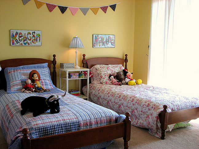 Tips For Shared Kids' Rooms