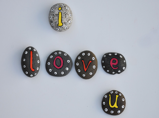 DIY: Rock Your Alphabet