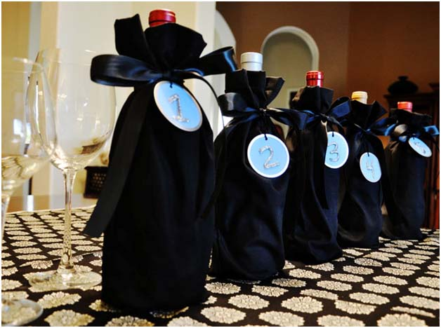 DIY: Blind Wine Bags