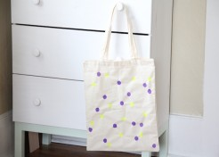 Polka-Dot Tote Craft