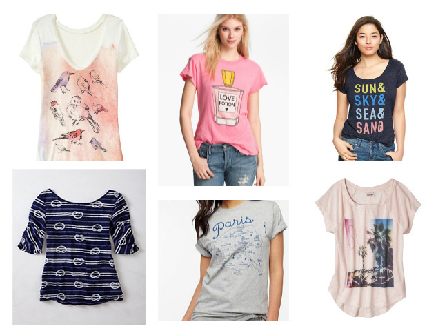 Shopping for Graphic Tees