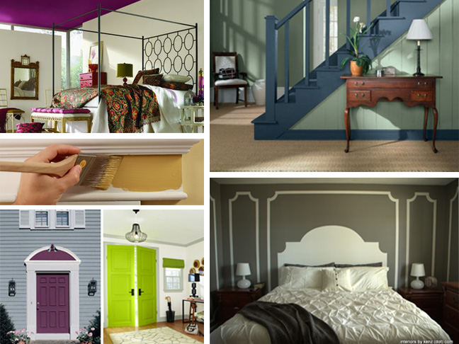 Creative Paint for Home