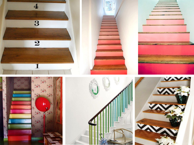 imaginative ways to paint your staircase