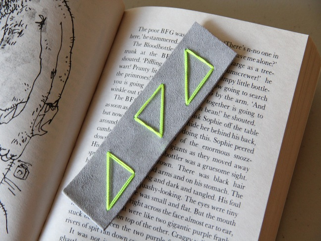 Leather Bookmark Craft