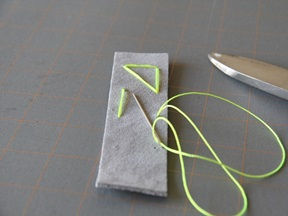 Leather Bookmark Craft - Step 4