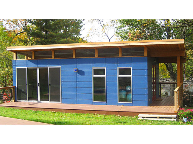 Modern sheds to expand your living space for Modular studio shed