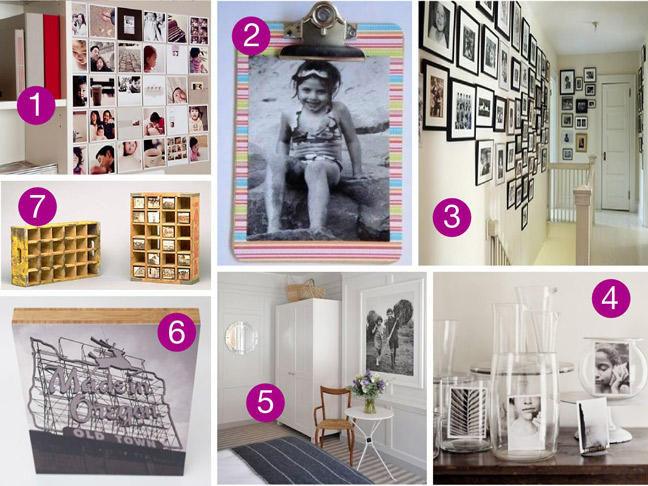 creative picture display ideas - Display Ideas