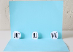 DIY: Father's Day Pop-Up Card Craft
