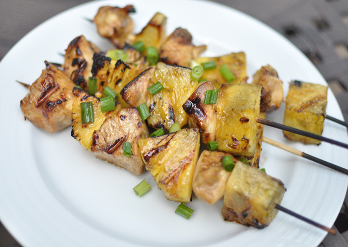 Chicken Pineapple Skewers Recipe