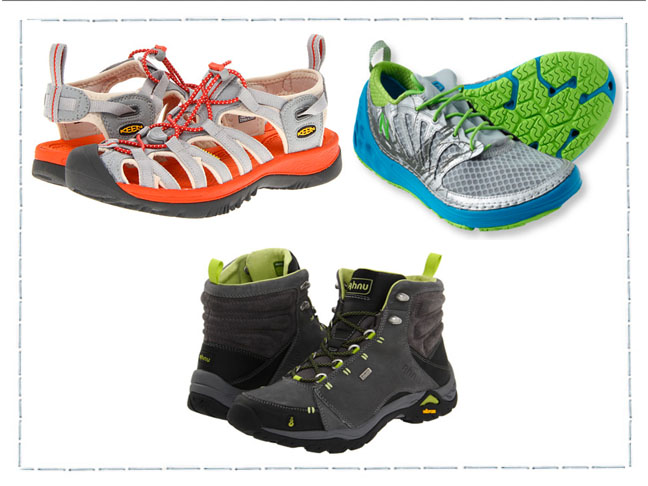 Activewear Hiking & Water Shoes