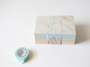 DIY Puzzle Blocks Craft - Step 1