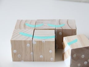 DIY Puzzle Blocks Craft - Step 5