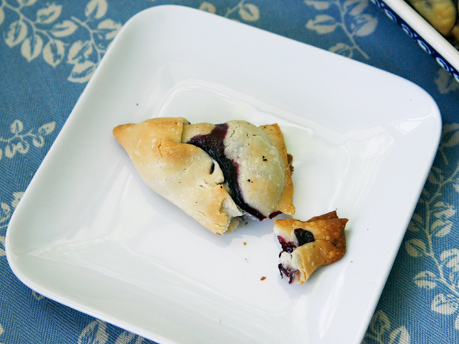 Blueberry Raspberry Turnovers Recipe - Step 6