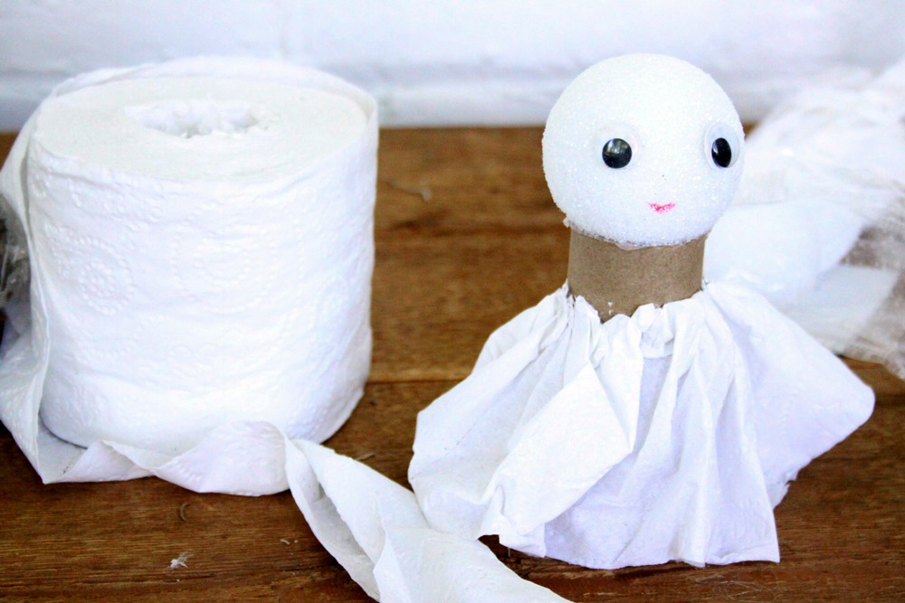 DIY Toilet Paper Angel - Step 5B