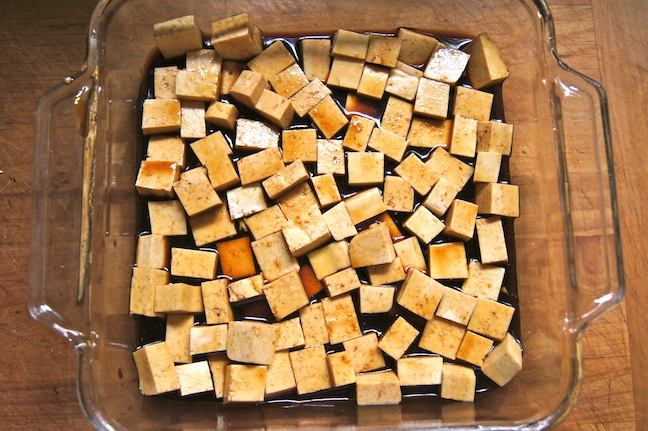 Honey-Glazed Soy Tofu - Step 3