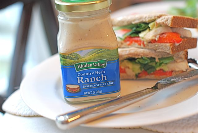Chicken Pepper Ranch Sandwich