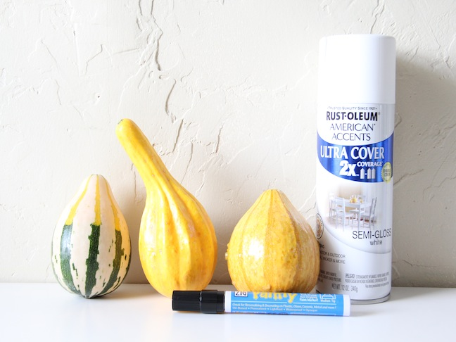 DIY Ghostly Gourds Materials