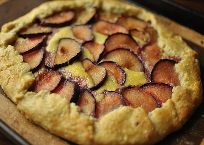Plum and Mascarpone Crostata Recipe
