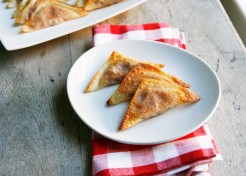 Crispy Baked Pizza Wontons Recipe