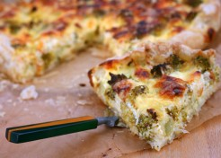 Broccoli Cheese Chicken Quiche Recipe