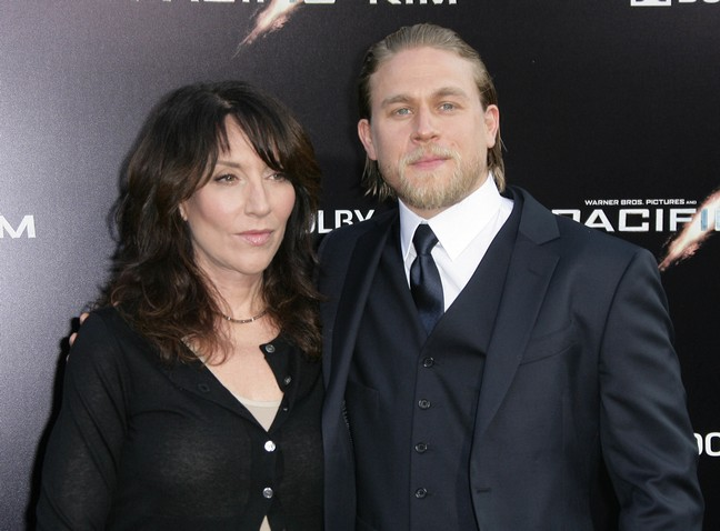 Author E L James Announces Charlie Hunnam As Christian ... Pacific Rim 2013