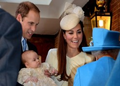 Photos: Christening Day For Duke And Duchess Of Cambridge's Son, Prince George