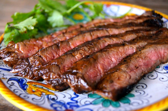 Grilled Flank Steak Recipe Final Image