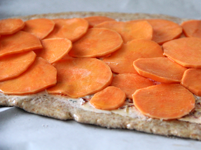 Yeast Free Spelt Pizza with Goat Cheese Recipe Step 8