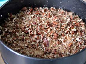 Plum Cake with Pecan Streusel Recipe Step 8