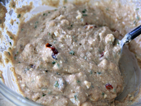 Oven Dried Tomato-Feta Muffins Recipe Step 4