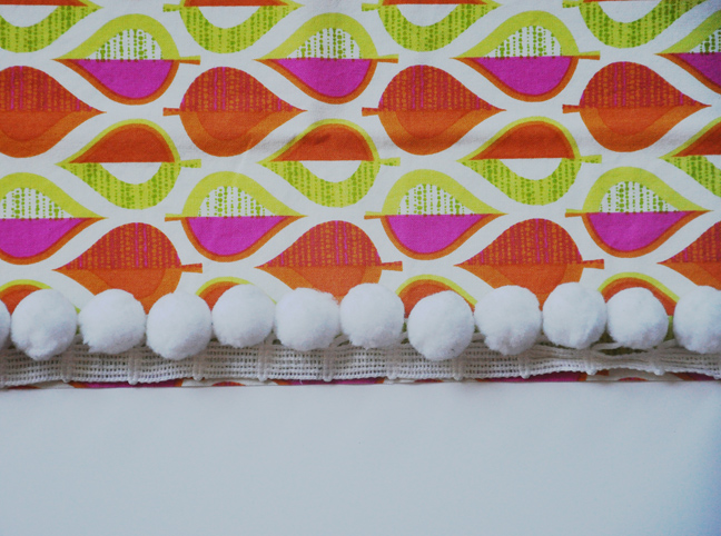 DIY - Reversible Tablecloth Step 3