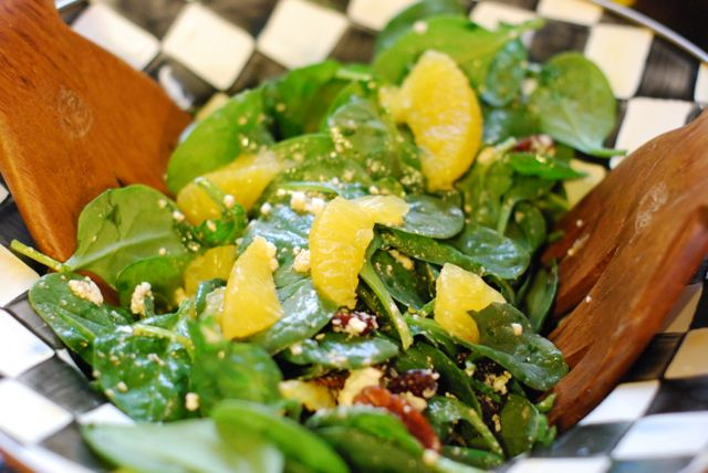 Spinach and Citrus Salad Recipe 1