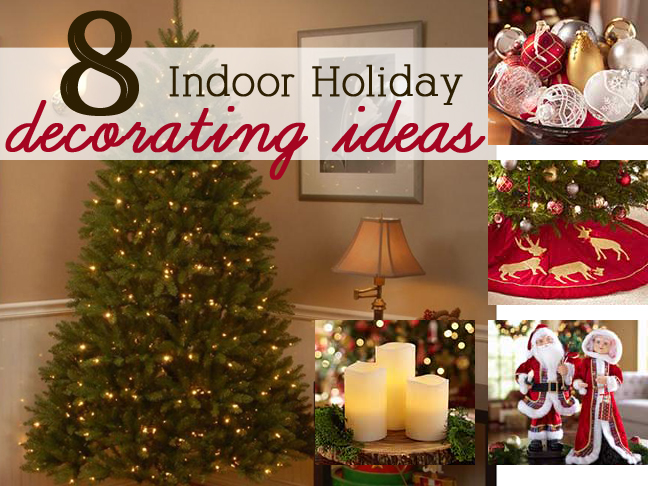 Indoor christmas decor ideas home design for Pictures of indoor christmas decorations