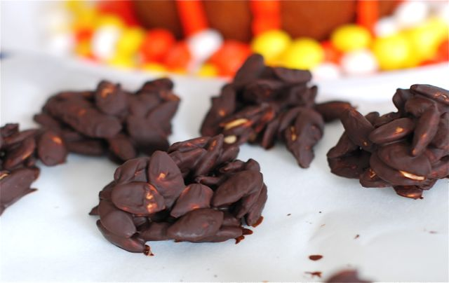 Chocolate Pepita Clusters