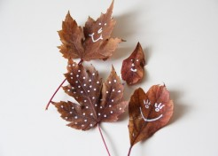 DIY for Kids: Leaf Art