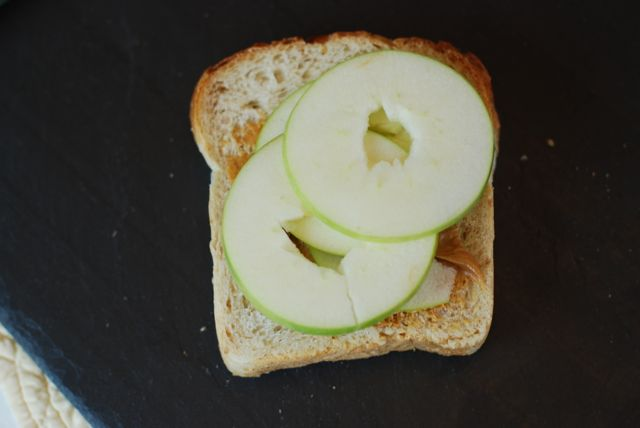 Apple and Peanut Butter Sandwich recipe 2