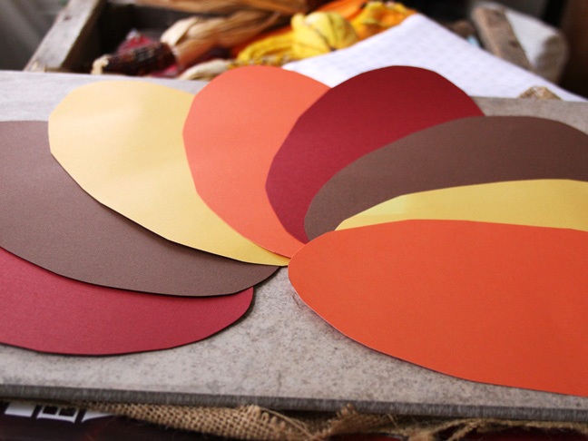 Turkey Paper Plate Craft - Step 4