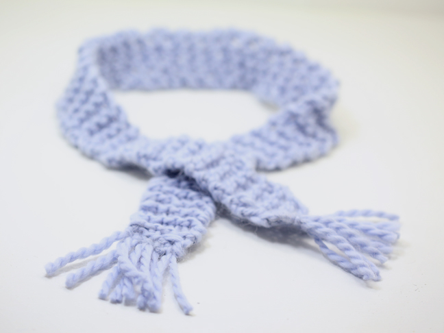 DIY Mini Scarf Ribbon