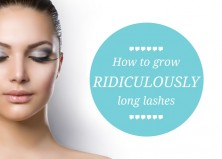 How To Grow Long Eyelashes – Get Dazzling for the Holidays