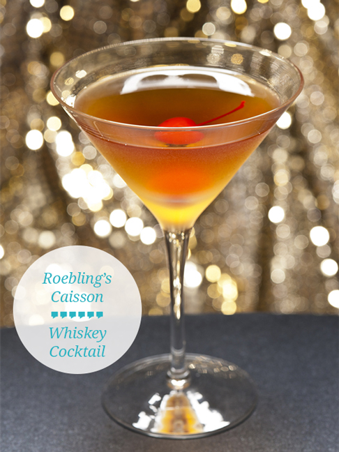 Whiskey Cocktail Recipe Roebling S Caisson