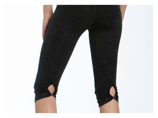 Hard Tail Shirred Knee Pants