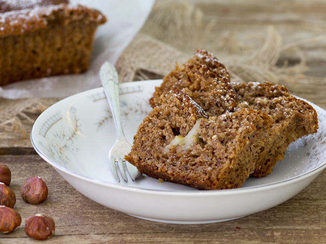 Pear + Hazelnut Buttermilk Cake Recipe