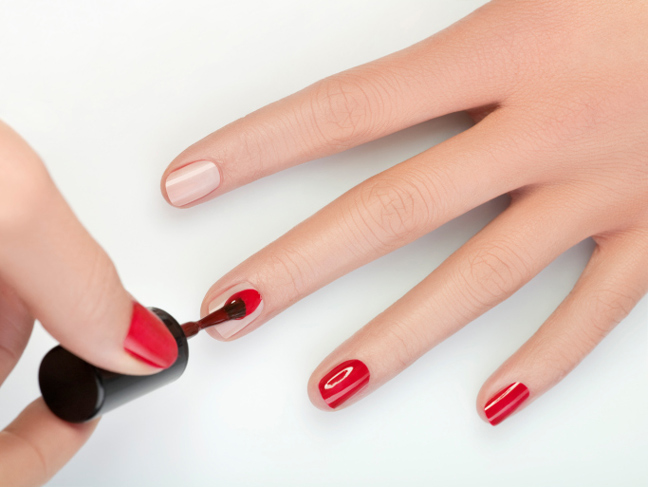 how to do a spa manicure at home