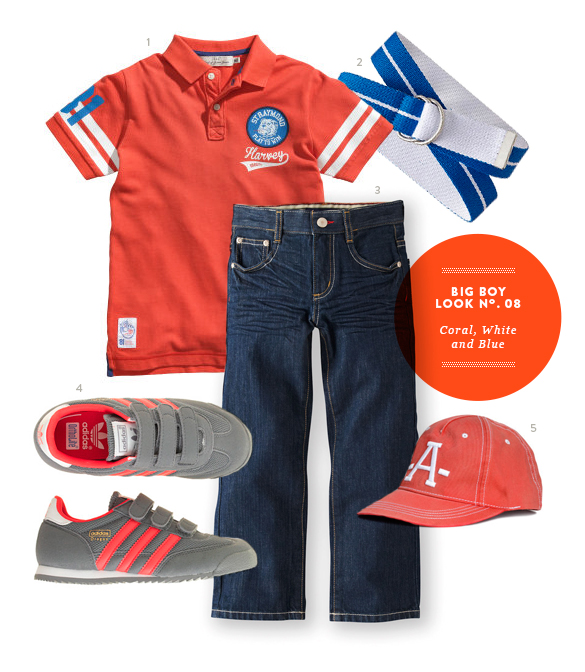 BIg Boy Outfit Inspiration from The Kids' Dept. for Mumtastic.