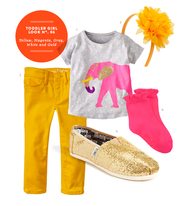 Toddler Girl Outfit by The Kids' Dept. for Momtastic