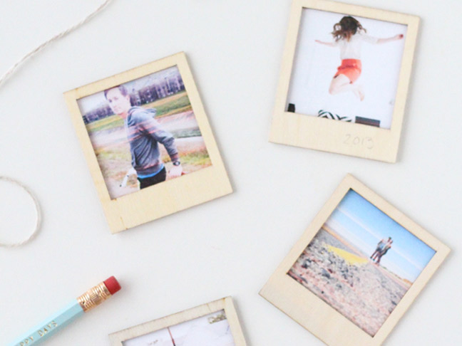 DIY Wooden Polaroids