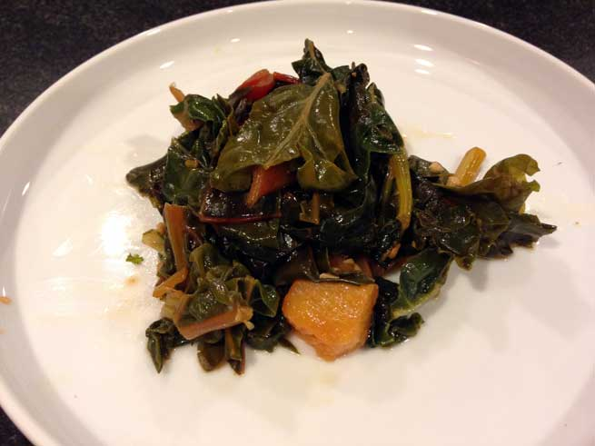 Swiss Chard and Pineapple 4