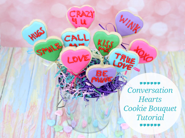 conversation-hearts-cookie-bouquet-tutorial