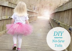 How To Make a No Sew Tutu [VIDEO]